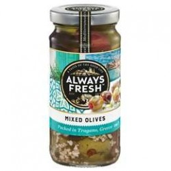 MIXED OLIVES 220GM