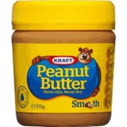 PEANUT BUTTER SMOOTH 375GM