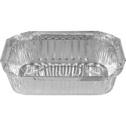 SMALL RECTANGLE FOIL CONTAINER RFC445 100S
