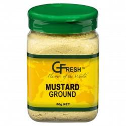 GFRESH MUSTARD GROUND     80GM