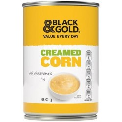 CREAMED CORN 400GM
