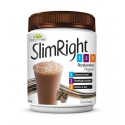 SLIM RIGHT CHOCOLATE POWDER 375GM
