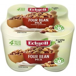 FOUR BEAN MIX MULTI PACK 4X125GM