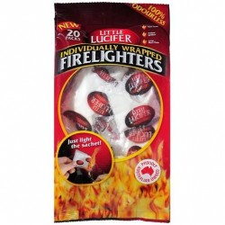 FIRELIGHTERS INDIVIDUALLY WRAPPED 20S