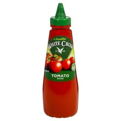 WHITE CROW TOMATO SAUCE (SQUEEZE BOTTLE) 500ML