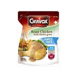 CHICKEN and HERB LIQUID GRAVY 250GM