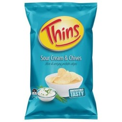 SOUR CREAM CHIVES CHIPS 175G
