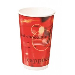 CAFE VERVE DOUBLE WALL PAPER CUP 460ML