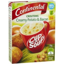 CUPASOUP 2 SERVE CREAMY POTATO AND BACON CROUTONS