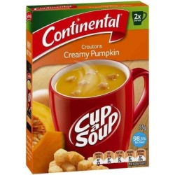 CROUTONS PUMPKIN CUP-A-SOUP 2 SERVES 55GM