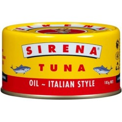 TUNA IN OIL ITALIAN STYLE 185GM