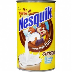 NESQUIK CHOCOLATE TIN 250GM