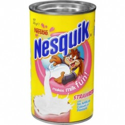 NESQUIK STRAWBERRY TIN 250GM