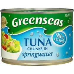TUNA IN SPRINGWATER 425GM