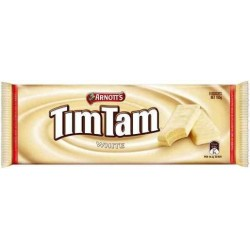 BISCUITS CHOCOLATE TIM TAM WHITE 165GM