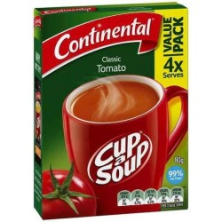 TOMATO CUP-A-SOUP 4 SERVES 80GM