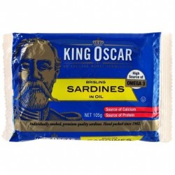 SARDINES IN SOYA OIL 105GM