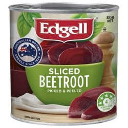SLICED BEETROOT 825G