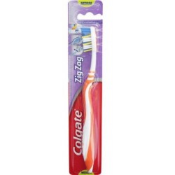 COLGATE TOOTHBRUSH ZIGZAG ADULT MED SINGLE