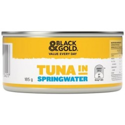 TUNA CHUNKS IN SPRINGWATER 185G