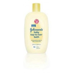 JOHNSON & JOHNSON BABY WASH TOP TO TOE 200ML