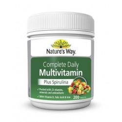 NATURES WAY MULTI VITAMIN 200S