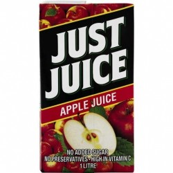 JUST JUICE APPLE 1 LITRE