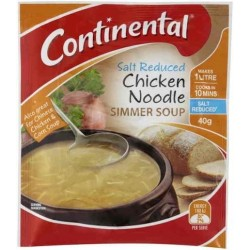 CHICKEN NOODLE SOUP SALT REDUCED 40G