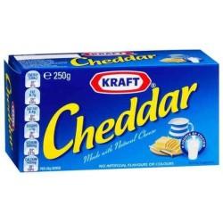 CHEESE CHEDDAR 250GM