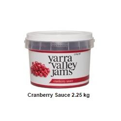 CRANBERRY SAUCE 2.25KG