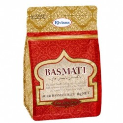 BASMATI LONG GRAIN RICE 1KG