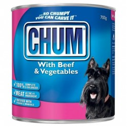 BEEF AND VEGETABLES DOG FOOD 700GM