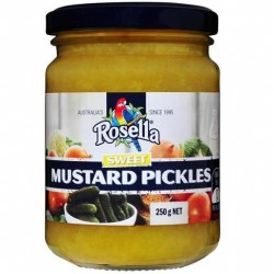 SWEET MUSTARD PICKLES 250GM