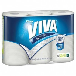 PAPER TOWEL WHITE 60 SHEETS 3PK