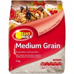 MEDIUM GRAIN WHITE RICE 2KG