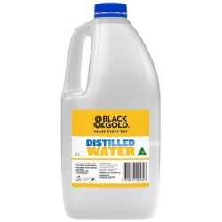 DISTILLED WATER 2LT