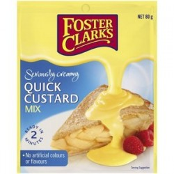 QUICK CUSTARD MIX 80GM