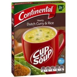 HEARTY DUTCH CURRY CUPASOUP 2 SERVES 2PK
