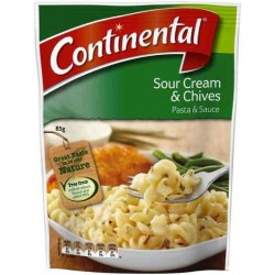 SOUR CREAM AND CHIVES PASTA AND SAUCE 85GM
