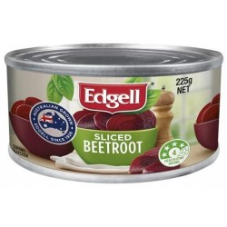SLICED BEETROOT 225GM