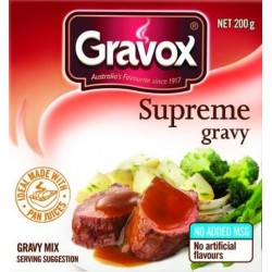 GRAVOX SUPREME GRAVY POWDER 200GM