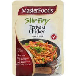 TERIYAKI CHICKEN STIR FRY RECIPE BASE 175GM