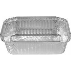 MEDIUM RECTANGLE FOIL CONTAINER 100S