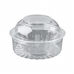 BOWL ROUND WITH DOME LID 8OZ 8OZ