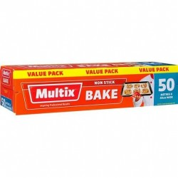 BAKE PAPER VALUE PACK 50MX30CM