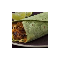 MISSION SPINACH FLOUR TORTILLAS 12 INCH